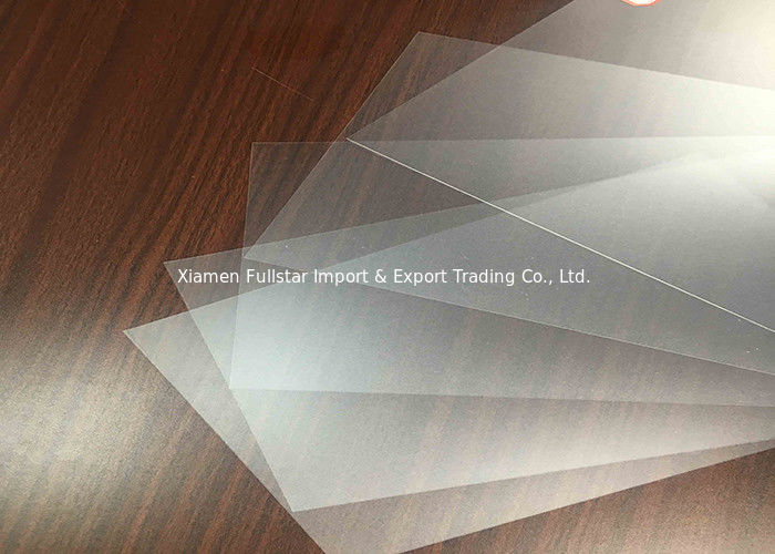 Thin Translucent Polyester Film , Rigid Polyester Film Sheets For