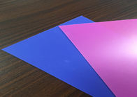 Rigid Translucent Plastic Sheet , Colored Plastic Sheets 0.06mm ...